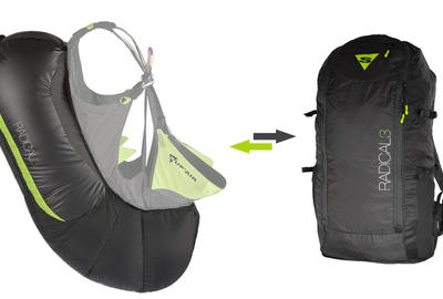 sac airbag radical 3